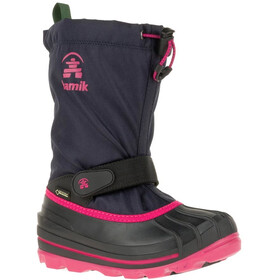 Kamik Waterbug 8G Winter Boots Youth navy/rose-marine/rose